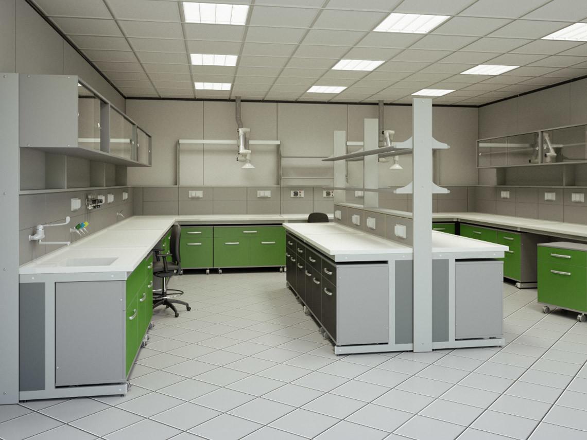 Banchi per laboratori serie flexa ferraro arredi tecnici for Arredi da laboratorio